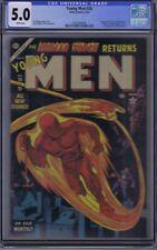 Young Men #26 Atlas 1954 CGC 5.0