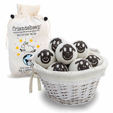 Friendsheep Wool Eco Dryer Balls - 100% Organic, Handmade, Fair Trade, No Lint