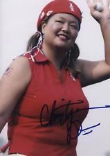 LPGA Christina Kim Signed 8x10 Photo pose #2