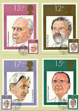 10 SEPTEMBER 1980 BRITISH CONDUCTORS SET OF PHQ CARDS 46 HOUSE OF LORDS CDS
