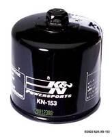 K&N OIL FILTER (KN-153) HIGH FLOW FILTRATION