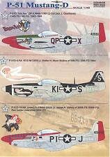 Print Scale Decals 1/48 NORTH AMERICAN P-51D MUSTANG Fighter