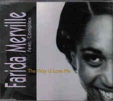 Farida Merville-the Way U love Me cd maxi single