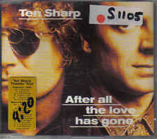 Ten Sharp- after all the love has gone cd maxi single