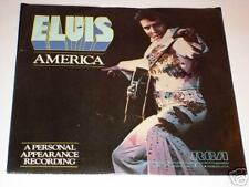 ELVIS America / My Way Picture Sleeve with 45