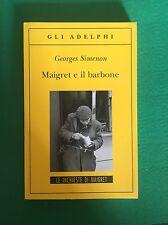 Maigret e il barbone - Georges Simenon - Adelphi - 2008