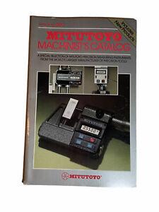 Mitutoyo Measure Instruments 1982 Catalog #300 Machinist's Measuring Tools Book