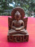 Bouddha Statue en bronze Statuette Fait main en Inde Buddha Bouddhisme Asie A