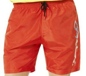 "Men's OAKLEY TNP RED Beachwear 7"" Swim Trunks Shorts M Medium  442572"