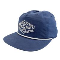 Vans Blue Men's Old Skool Off The Wall Strapback Adjustable Cap Hat