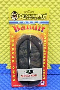Quaker Boy Hunter's First Choice Elite Bandit Camo Headnet Mossy Oak Brand 56202