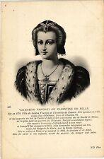 CPA Valentine Visconti ou Valentine de Milan Royalty Nobelty (314397)