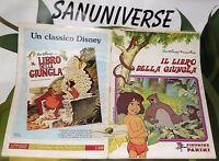 ALBUM STICKER DISNEY 1983-IL LIBRO DELLA GIUNGLA/THE JUNGLE BOOK-COMPLETO mowgli