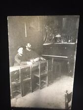 Toulouse-Lautrec & Louis Anquetin In Cafe. Art Nouveau 35mm French Art Slide