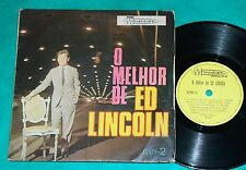 "Ed Lincoln - O Melhor De Ed Lincoln BRAZIL RARE 7"" LP Musidisc MINI-2 1969"