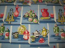 Vintage Pair of Kitchen Curtains
