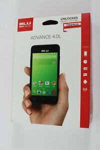 BLU Advance 4.0L Unlocked Smartphone US GSM Black AT&T