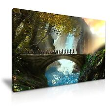 The Hobbit, or There and Back Again  Canvas Wall Art Picture Print 76x50cm
