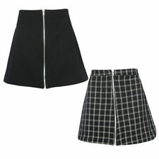 Polyester A-line Short/Mini Skirts for Women