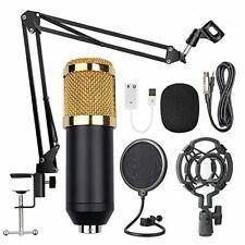 Kondensatormikrofon Kondensator Mikrofone Kit Studiomikrofon Musik Komplett Set
