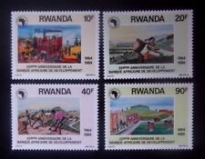 Rwanda-1990-African Development Bank-Full set-MNH