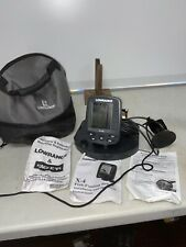 Lowrance X4 X-4 Fish Finder Depth Finder Fishfinder W/ Head Mount + MORE! NICE