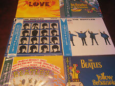 THE BEATLES SOUNDTRACK/ MOVIES LP SET MYSTERY TOUR HELP HARD DAYS - SUB & LOVE