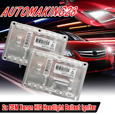 2x NEW VALEO HID XENON BALLAST For Chrysler 300C SRT8 D1S D1R LAD5GL 4pin 12V