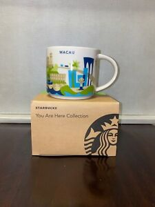 RARE!!!Starbucks Macau You Are Here YAH Macao Mug NEW w/ SKU. Domestic Shipping