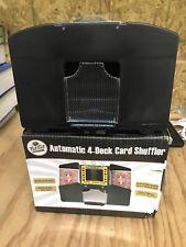 Card Shuffler 4 Deck Automatic Smooth Shuffle Casino Equipment Game Room New