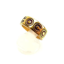 Chanel ring Red Gold Woman Authentic Used Y716