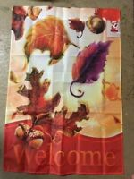 Welcome Fall Decorative House Flag