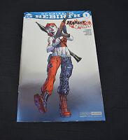 Harley Quinn 1 DC Rebirth 2016 NYCC NM Jim Lee Baltimore Metal Foil Variant