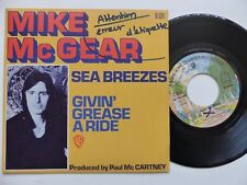MIKE MCGEAR Sea breezes Givin grease a ride 16520 Erreur labels   RTL