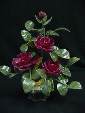 JADE BONSAI FLOWER- RED ROSES (202-3C)