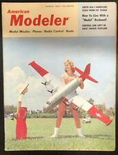 AMERICAN MODELER Magazine March 1960