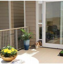 PetSafe Aluminium Pet Dog Cat Door Medium for Sliding Glass Patio