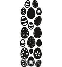 Stanz-/Prägeschablone Eggs Bordüre Ostereier Ostern Marianne Craftables CR1399