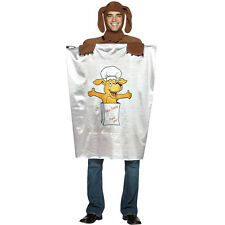 NWT ADULT LEFTOVER DOGGIE BAG HALLOWEEN COSTUME - ONE SIZE FITS ALL DOGGY BAG