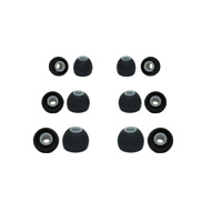 Silicone rubber earphone tips Soundpeats replacement earphone tips earbuds (6pr)