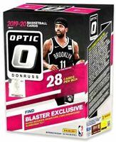 2019-20 Panini Donruss Optic Basketball Blaster Box (Zion RC) SEALED prizm hoops