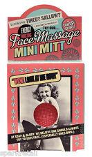 Soap and Glory Face Massage Pink MINI MITT Facial Massaging Exfoliator Pad