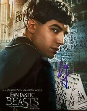 Ezra Miller Signed 8x10 Photo Close up Fantastic Beasts and Where to Find Them