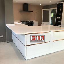 Pure White Quartz kitchen Countertops | Affordable prices | Sample