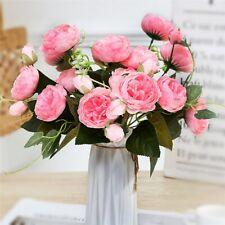 2x ramo de flores artificiales ramo de flores lavendelstrauß arte flores ramo de flores