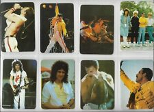 10 Pocket Calendar Music Card Queen 1991 Collectible vintage collecting Portugal