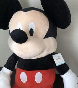 "Disney Baby Mickey Mouse, Jumbo Stuffed Animal Plush Toy - 36"""