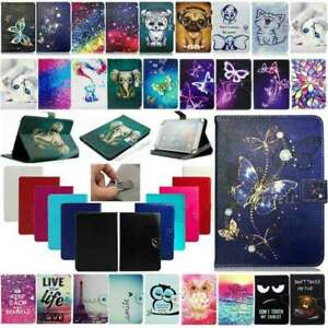 For Onn 7 inch Tablet 2020 & 2019 Kids Universal Print Leather Stand Case Cover