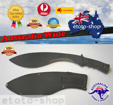 Hunting Camping Survival Kukri Machete Knife & Sheath Sydney Stock