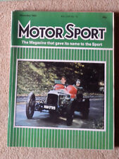 Motor Sport December 1982 Thrust 2, BMW 3 series, Invicta, Ferrari champions
